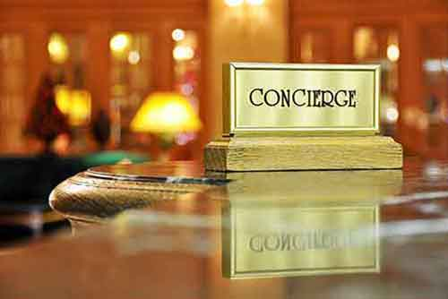 Concierge and Caretaker o t
